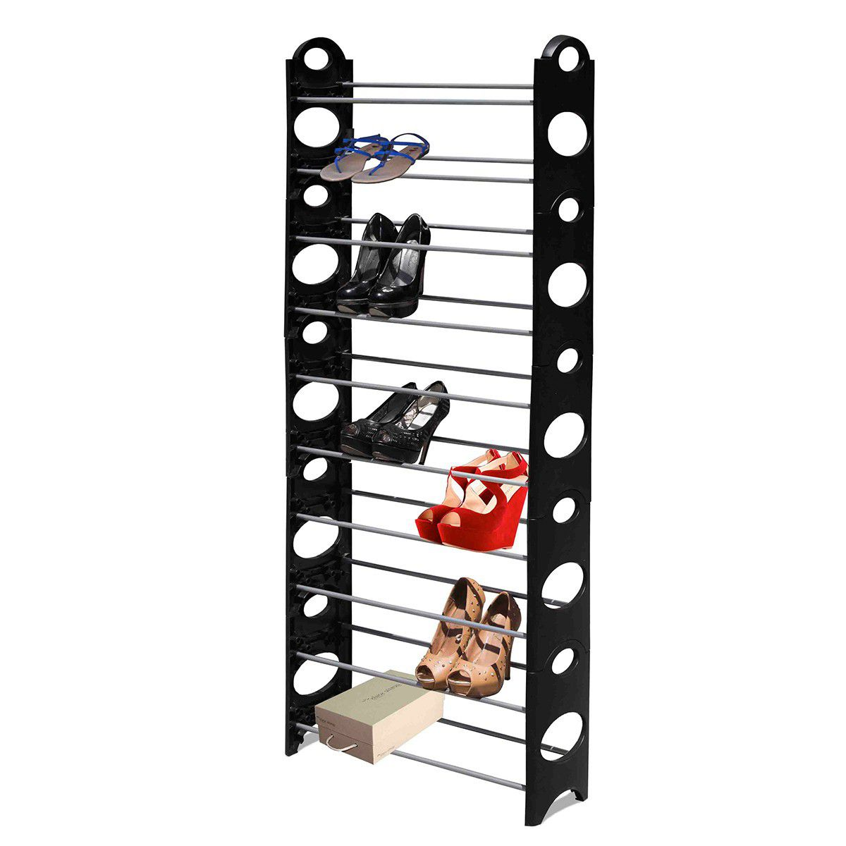 10 tier shoe rack b-zoom