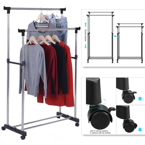 DOUBLE-POLE-CLOTHES-RACK