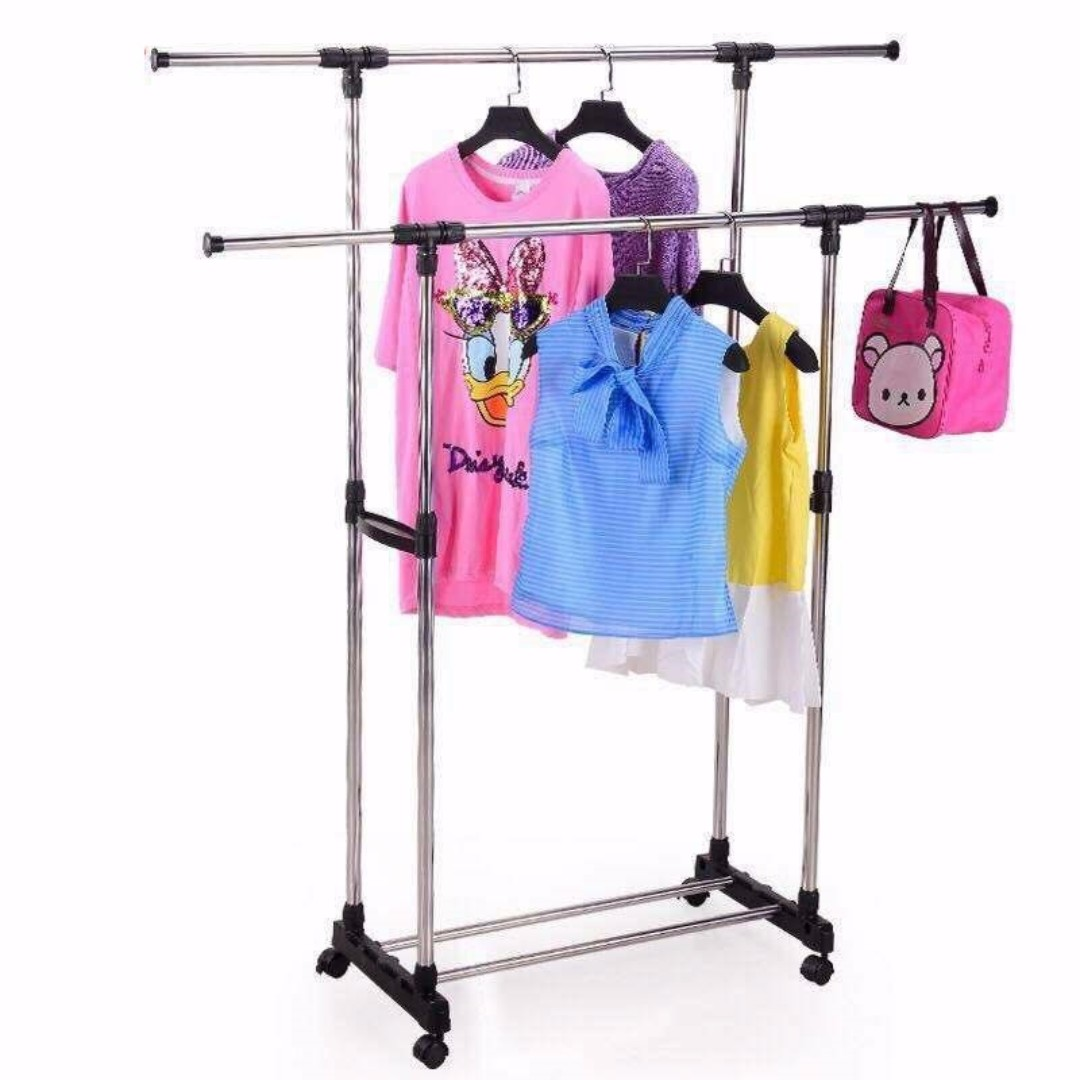 double_pole_telescopic_clothes_rack_1492680004_402c9822